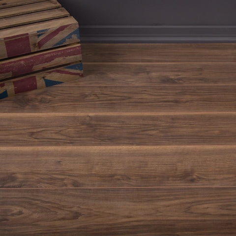 Virginia Walnut Laminate Flooring - AC3 - 7mm - 2.47m2