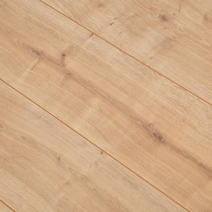 New England Oak Effect V-Groove Laminate Flooring - 7mm - 2.47m2