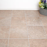 Laminate Flooring - Beige Slate Tile Effect