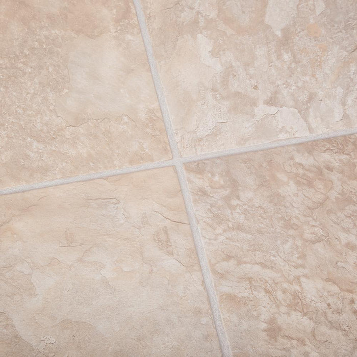 Beige Slate Laminate Flooring - Kitchen & Bathroom - 8mm - 2.12m2