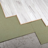 Laminate Floor Underlay - Green Parquet Boards