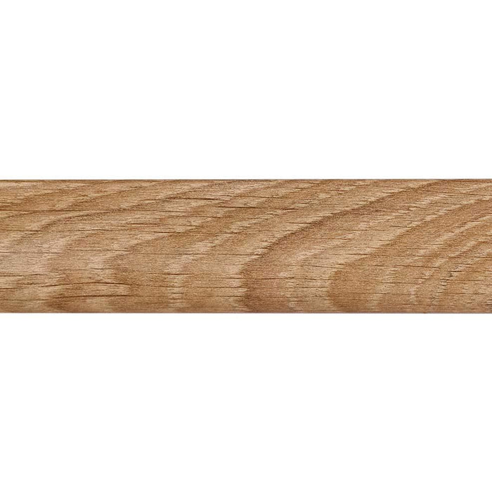 10.4m x MDF Wood Veneer Skirting Board - Bourgogne Oak