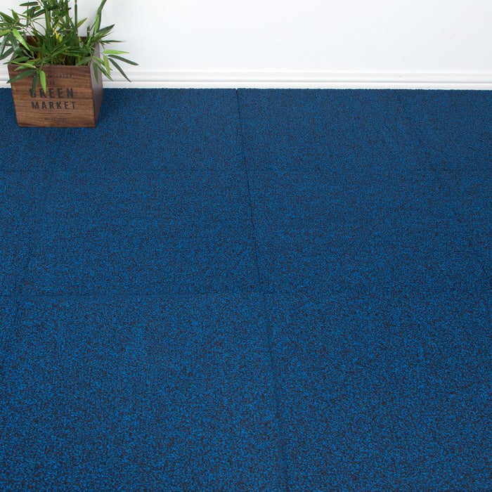 Carpet Tiles - Keeper Design Blue 3.76m2