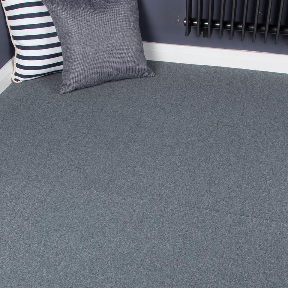 Carpet Tiles - Peer Skyscraper Grey/Blue 3.34m2