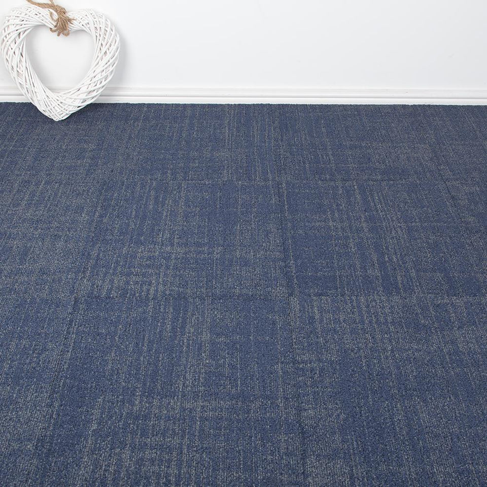Carpet Tiles - Narr Design Blue 3.76m2