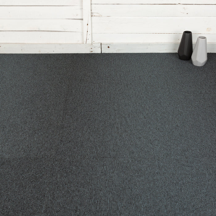 Carpet Tiles - Quality Office Carpet Tiles - Dark Blue - 50 x 50cm - 5m2