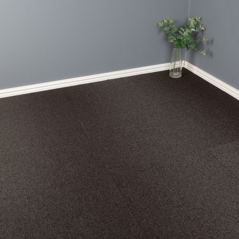 Carpet Tiles - Quality Office Carpet Tiles - Dark Grey / Blue - 50 x 50cm - 5m2