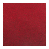 Quality Office Carpet Tiles - Red - 50 x 50cm - 5m2