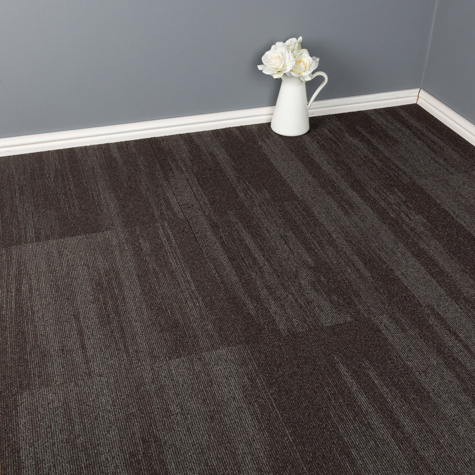 Carpet Tiles - Quality Office Carpet Tiles - Light Grey - 50 x 50cm - 5m2
