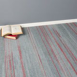 Carpet Tiles - Quality Office Carpet Tiles - Grey/ Red Stripes - 50 x 50cm - 5m2