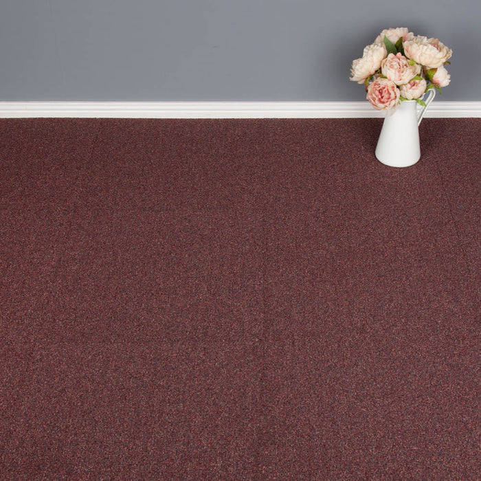 Carpet Tiles - Cometlines Carpet Tiles - Pepper Red - 1m2