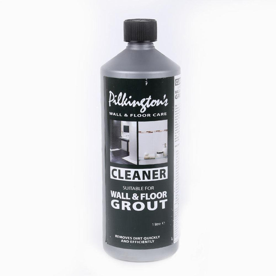Pilkington's Wall & Floor Grout Cleaner Remove Dirt & Stains - 1L
