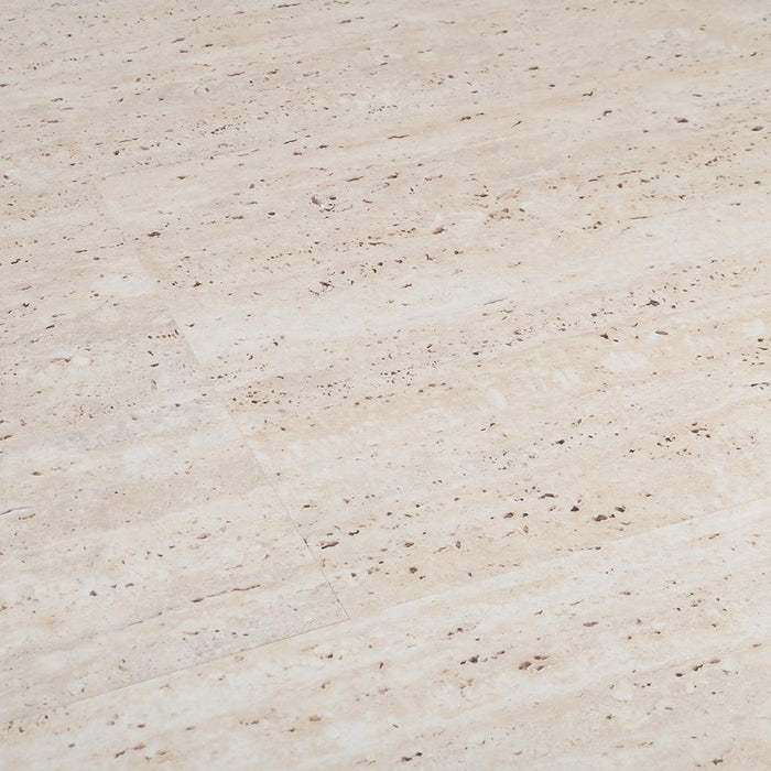 Travertine Beige Laminate Flooring - AC4 - 8mm - 2.12m2 - SAMPLE