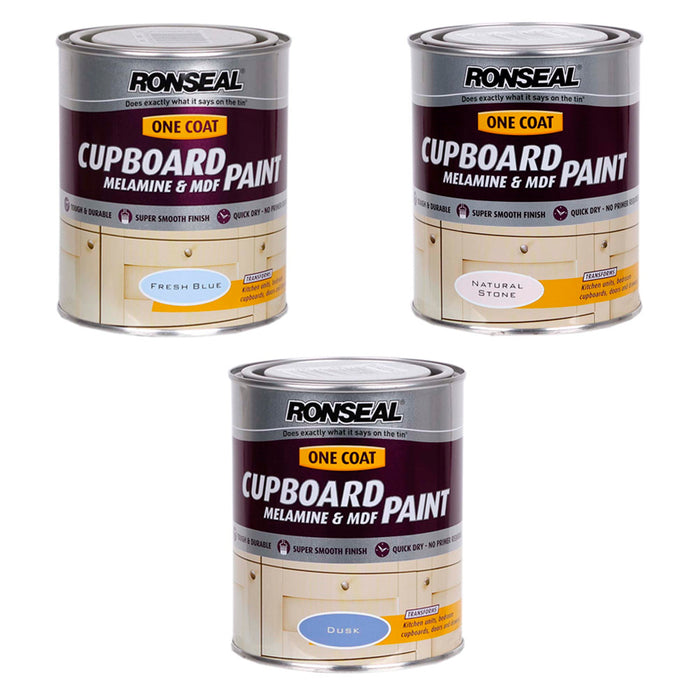 Paint | Cheap Ronseal One Coat Cupboard & MDF Paint
