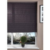 Window Blinds - Fabric Blind Dark Grey - 100x160cm