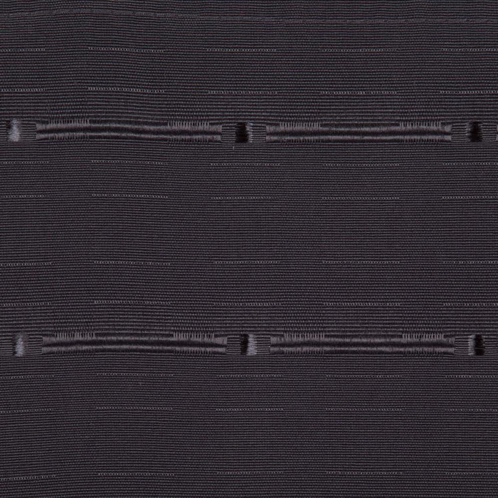 Fabric Roman Shade Blind Pattern Dark Grey - 100x160cm