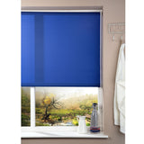 Window Blinds - Corded Roller Blind - Blue - 162cm x 180cm