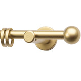 Gold Effect Curtain Pole - 1.8m