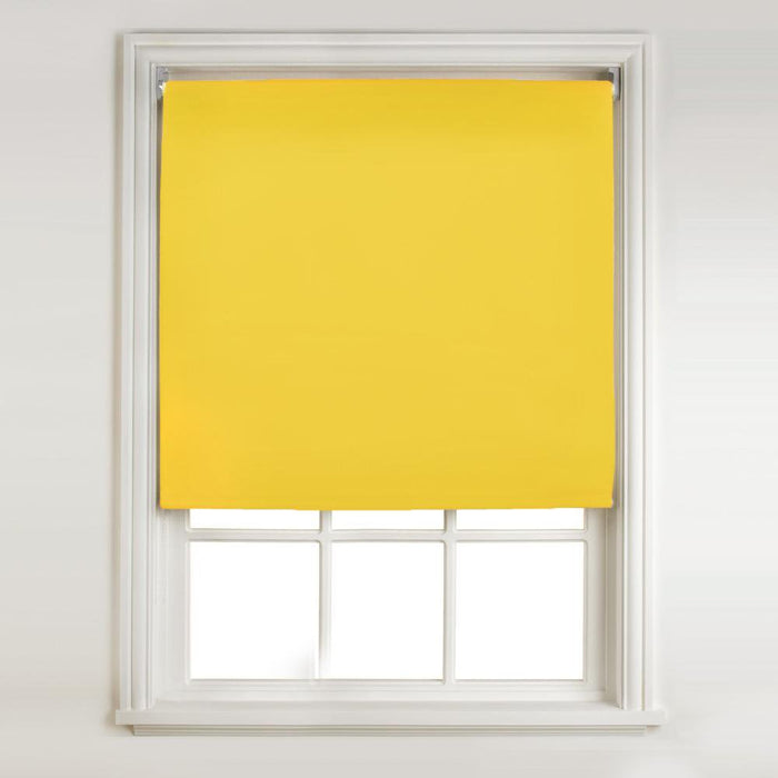 Swish Easy-Fit Roll-Up Blind-Yellow- 180 x 175cm