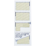 Vertical Blinds - Yellow & Terracotta - 300 x 260cm (WxL)