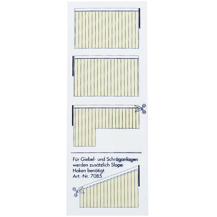 Complete Vertical Blind - Yellow - 200cm x 260cm