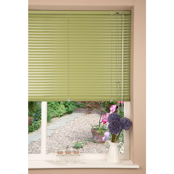 Aluminium Metal Venetian Blind - Apple Green - 80x175cm