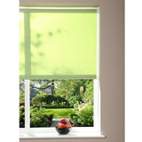 Window Blinds - Roller Blind - Green - 62cm x 180cm