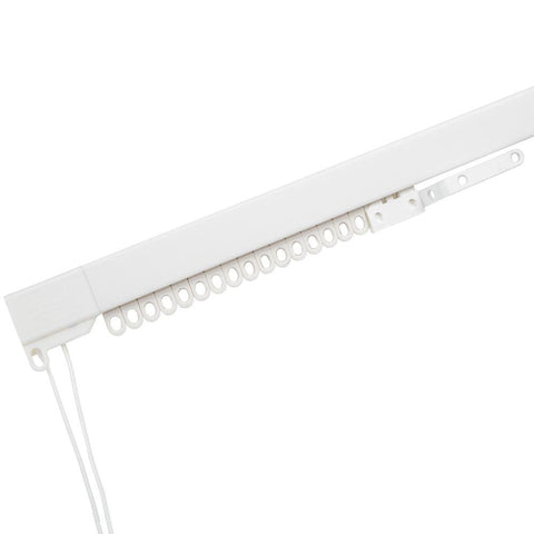 Swish Rail Express Curtain Track - Plastic - 1.75m Corded - White