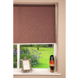 Window Blinds - Royal Roller Blind Chocolate Leaf 75 x 150cm