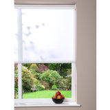 Window Blinds - Roller Blind White 162cm x 180cm