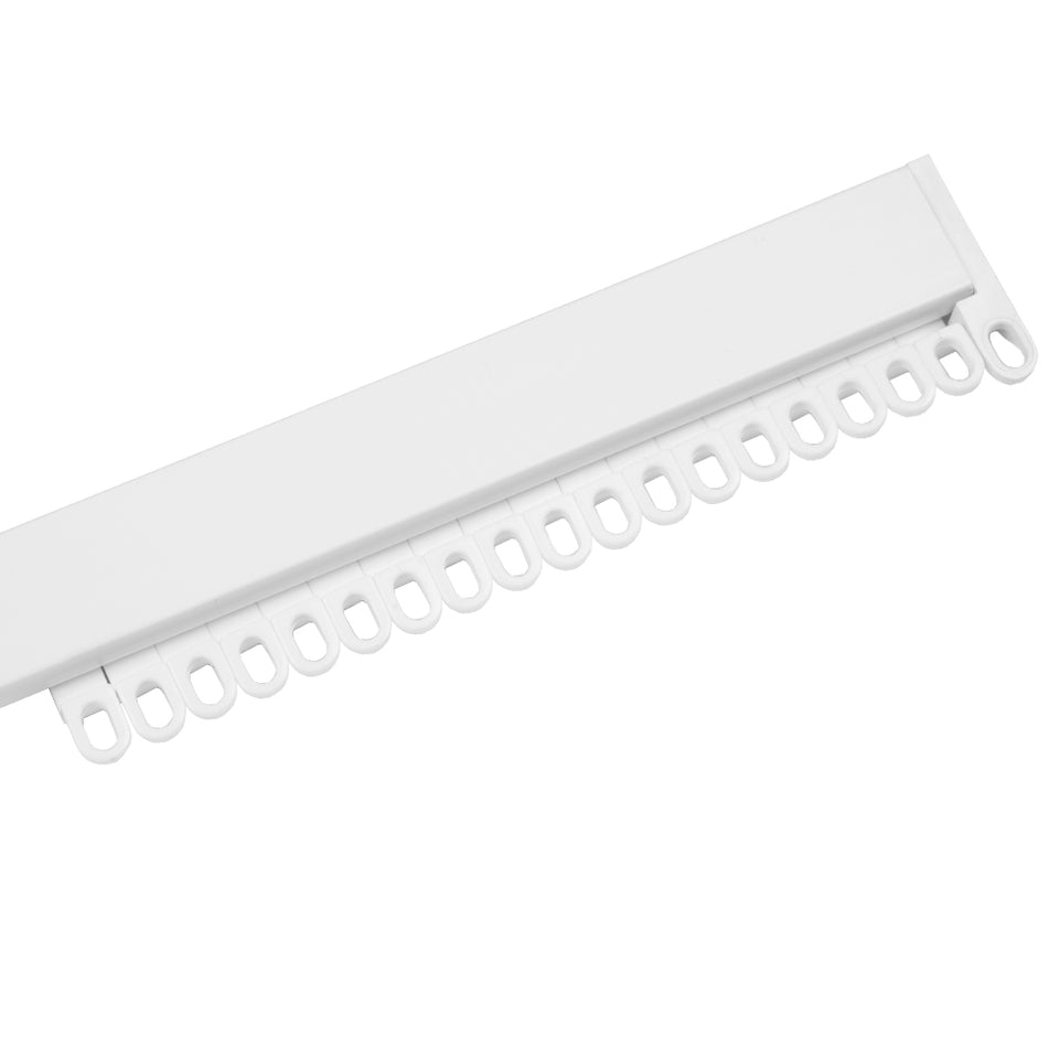 Swish Luxe Curtain Track - White Plastic - Uncorded - 1.75m