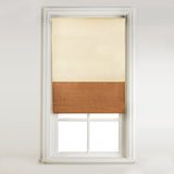 Window Blinds - Sunlover Roller Blind Cream & Brown 91x170cm