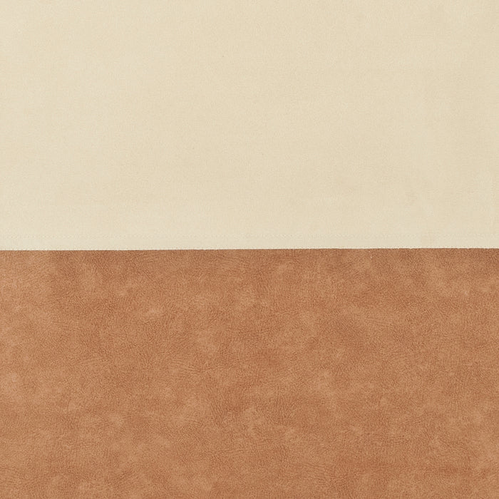 Sunlover Easy - Fit Roller Blind - Cream & Brown - 91x170cm