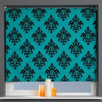 Window Blinds - Sunflex Internal Blind Teal 180cm x 170cm