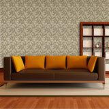 SAMPLE - Blendworth Paper Trail Wallpaper Roll - Linden Patterned BL-0903 Gold