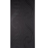 Blendworth Anthology YoYo Patterned  Black Wallpaper