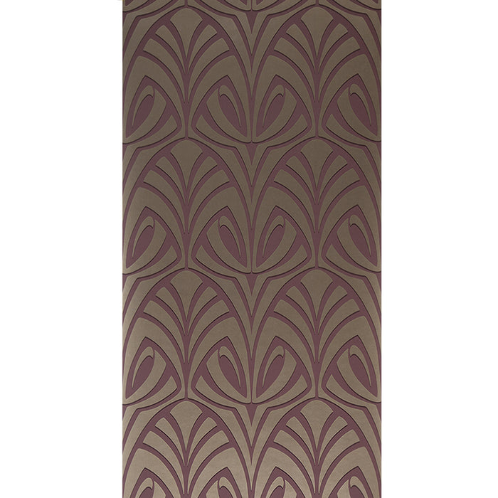 Blendworth Anthology Variations Patterned Brown Wallpaper