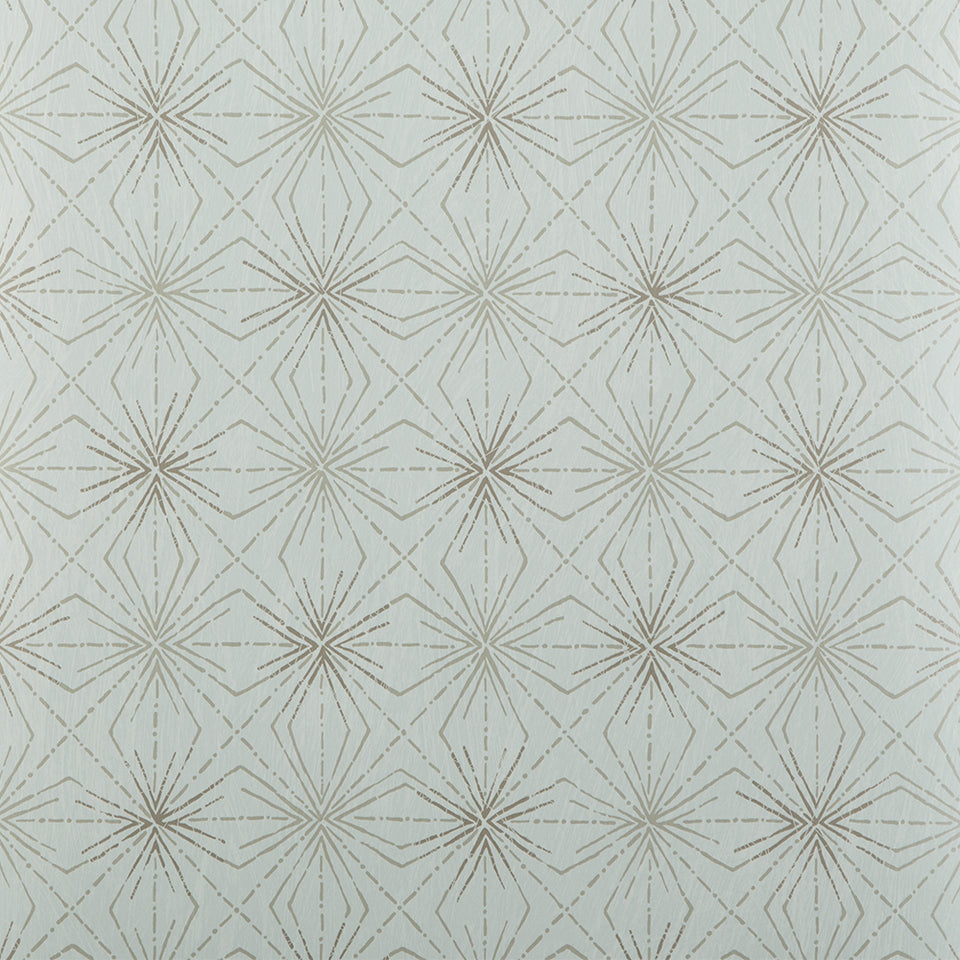 Blendworth Paper Trail Wallpaper -Starburst BL-0905 -Blue/Grey- SAMPLE