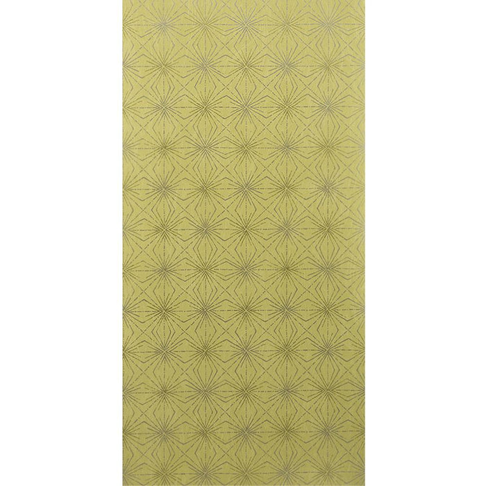 Blendworth Paper Trail Starburst Paper Green & Grey Wallpaper