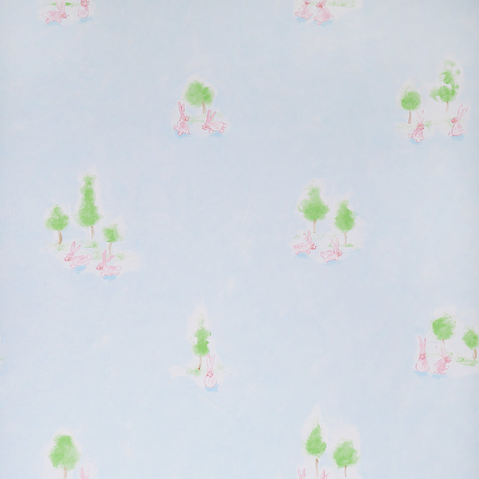 Wallpaper - Designers Guild Easter Bunny Wallpaper