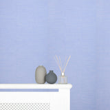 Designers Guild Wallpaper Endek Bluebell  Striped Blue/Lilac