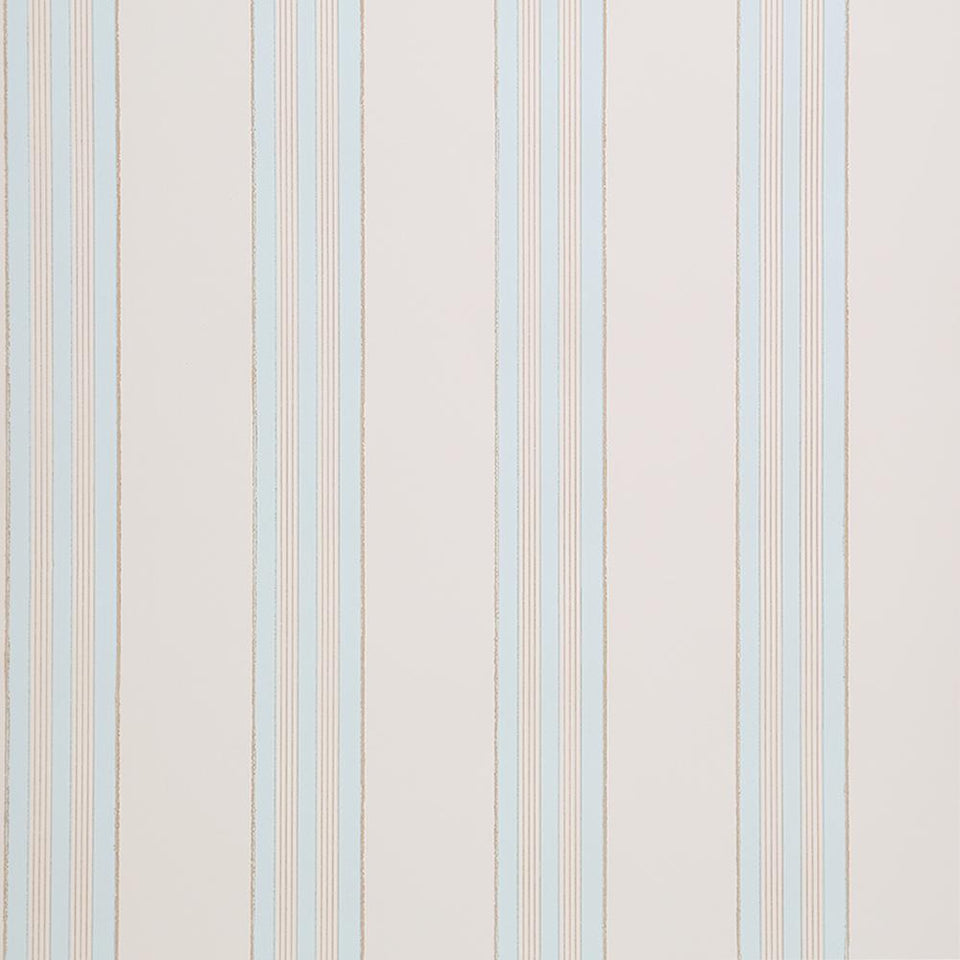 Designers Guild Wallpaper - Flat Striped - Cream - Perouges - P420-02 - SAMPLE