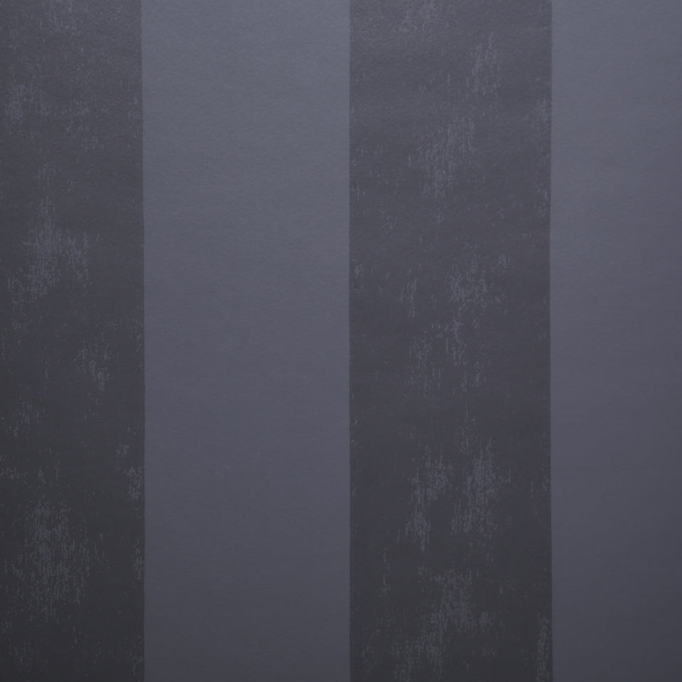 Designers Guild Wallpaper - Flat Striped - Black - Naroda - P448/07 - SAMPLE