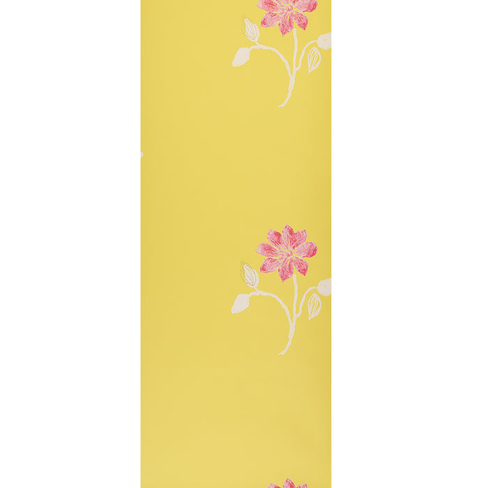 Designers Guild Wallpaper - Floral - Yellow - Cristobal - P374-04 - SAMPLE