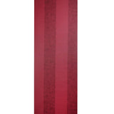 Esta Home Decor Wallpaper Roll - Striped Vinyl - Sorbonne Red - 194218 - SAMPLE