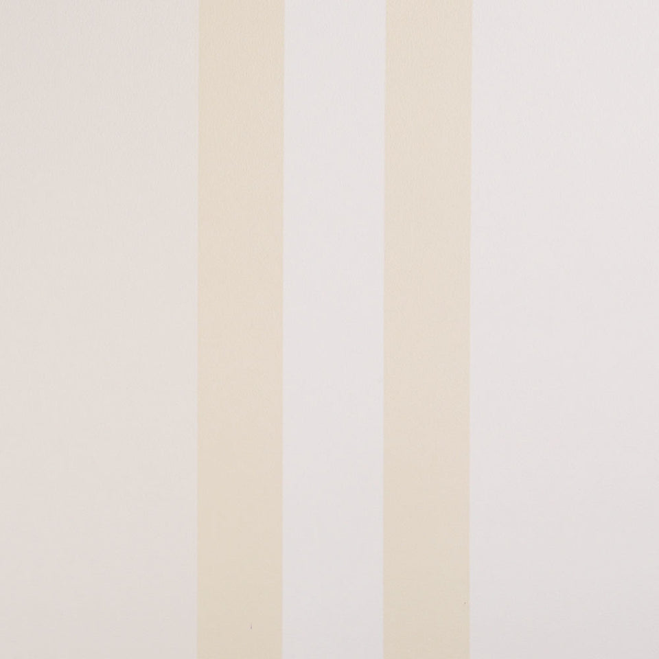 Esta Home Decor Wallpaper - Flat Striped - Delicious - Cream - 114421 - SAMPLE