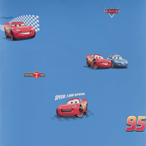 Graham & Brown Wallpaper Disney Pixar Cars Blue