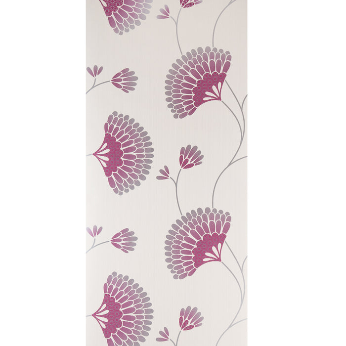 Graham & Brown Wallpaper Charm Floral Pink Cream