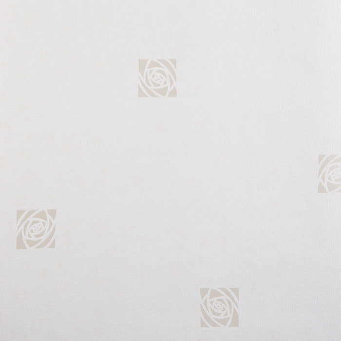 Wallpaper - Superfresco Wallpaper Rose White
