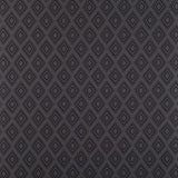 Wallpaper - Fresco Wallpaper Diamond Patterned Charcoal Grey